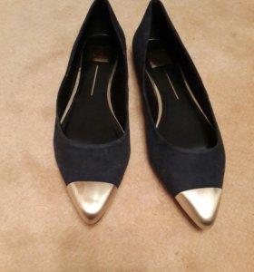 Новые Туфли женские из натуральной замши