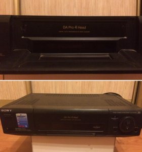 sony video cassette recorder slv-e510ee