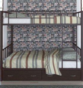 Двухъярусная кровать Валенсия 120 новая