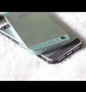Набор наклеек на iPhone 5/5s