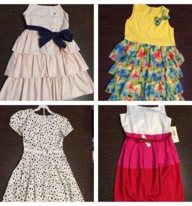 Платья, сарафаны для девочки р.134-140