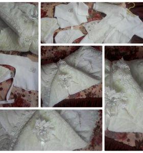 Комплект на выписку новорожденного