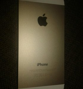 Корпус для iPhone 5 Gold с кнопками