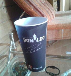Именной стакан Роналдо(колекционный)