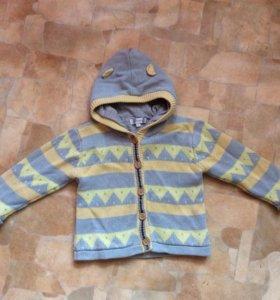 Тёплый свитер на 1,5-3г