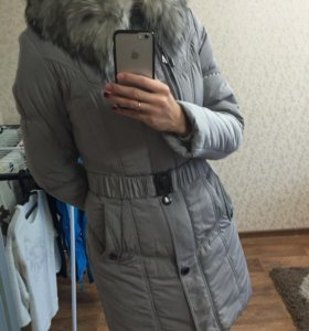 Женский зимний пуховик 44-46