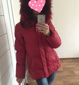 Женский зимний пуховик 46