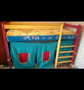 Кровать-палатка-чердак
