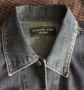 Джинсовая куртка размер 64 на рост не меньше 185