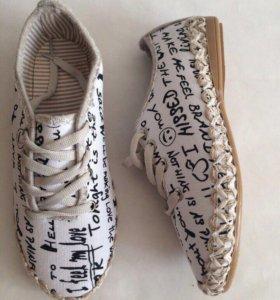 Новые ботиночки 36.39 размеры