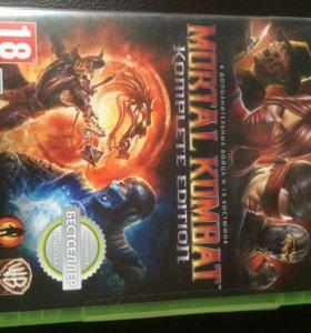 Mortal Combat лицензия на Xbox 360