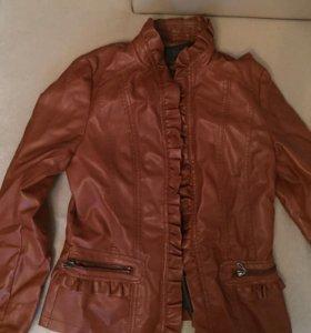 Куртка кожзам 46-48 размер