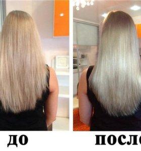 Восстановление волос при помощи экранирования