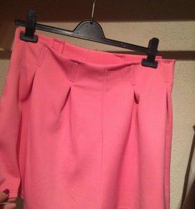 Новая розовая юбка