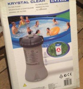 Фильтр-насос Intex Krystal Clear Filter Pump 604