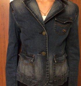 Джинсовый пиджак «Tom Tailor»,рост 140.