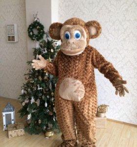 ⭐🐒️Театральный костюм Ростовая кукла обезьяна
