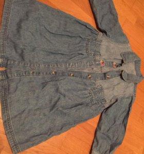 Платье джинсовое Mothercare