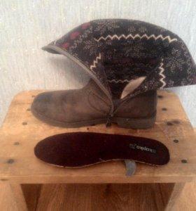 Сапоги демисезоннын Kapika 34 размер