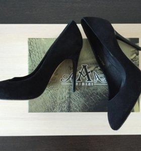 Туфли из натуральной замши, 38 р-р