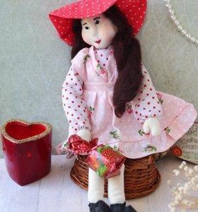 """Интерьерная кукла """"Любимая Малышка"""