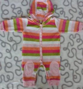 Теплая одежда для малышуи