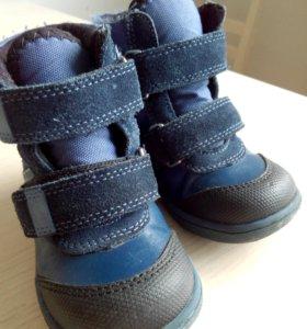 Новые детские осеннии ботинки dandino
