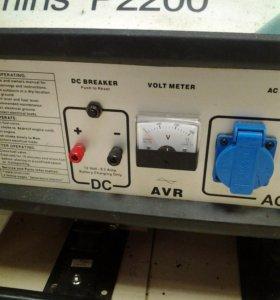 Бензо генератор cummins p2200