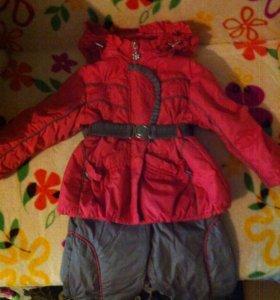 Весенний комплект (Куртка и полукомбинезон)