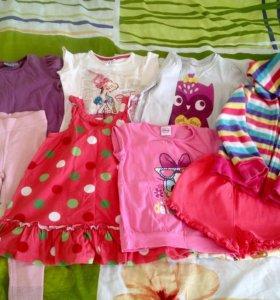 Пакет вещей на девочку 3 года