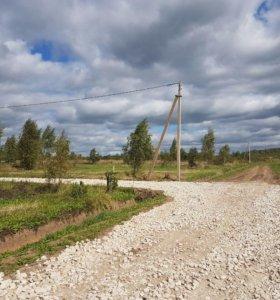 Продам участок в деревне Домнино всего 100 км от