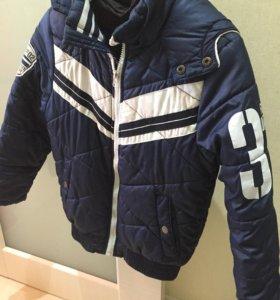 Куртка (осень-весна) YO в отл. сост. размер 140