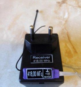 Полупирамидка (переделка ИК в радиопульт)