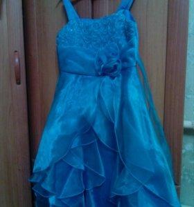Платье бальное, рост130