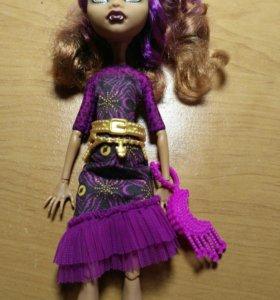 Monster High Кукла Монстер Хай Клодин Вульф
