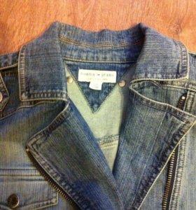 Джинсовая куртка Tommy Hilfiger оригинал 46 р.