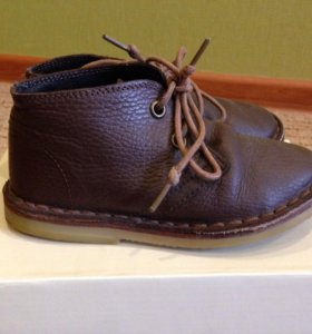 Ботинки для мальчика (кожа) Benetton