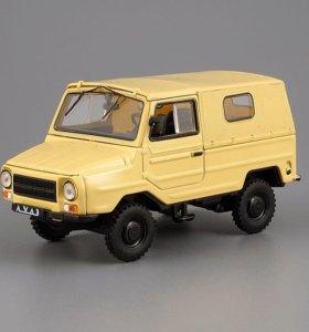 Модель машины ЛУАЗ 969 масштаб 1/43