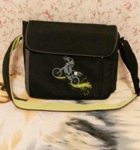 Новая сумка мессенджер 'ecco'