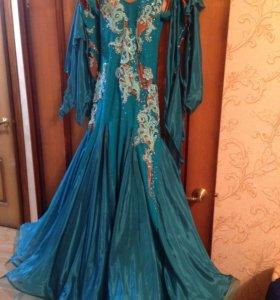 Платье стандарт бальное
