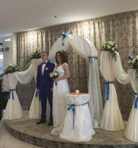 Колонны Арка на свадьбу