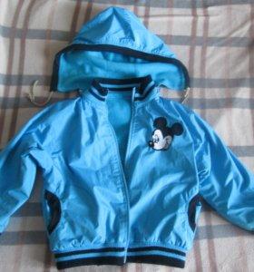 Куртка детская демисезонная( рост 95-100см)