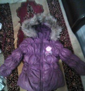 Куртка зимняя 116 размер