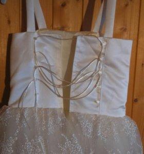 Бальное платье для девочки 6 лет, рост 124-128