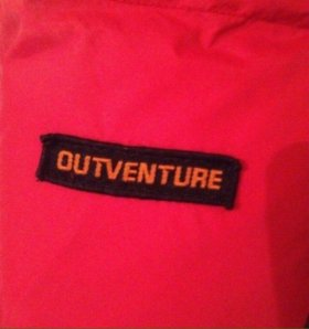 Пуховик Outventure 40-42 размер