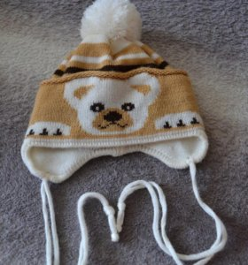 ❄️ Детская шапка на завязках