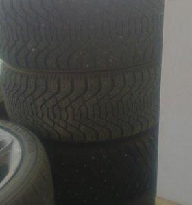 Оригинальное литье на BMW, на 17 с зимней резиной