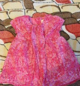 Платье (Zara) 74 размер