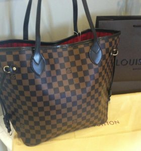 Сумка Louis Vuitton neverfull Mm brown