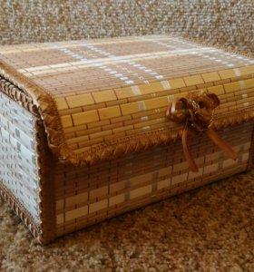 Плетеный короб.